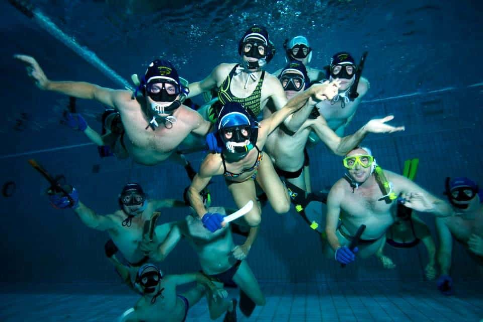 Brisbane Underwater Hockey