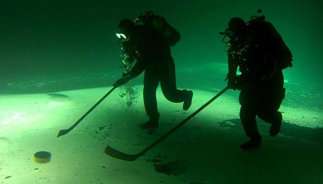 Not underwater hockey